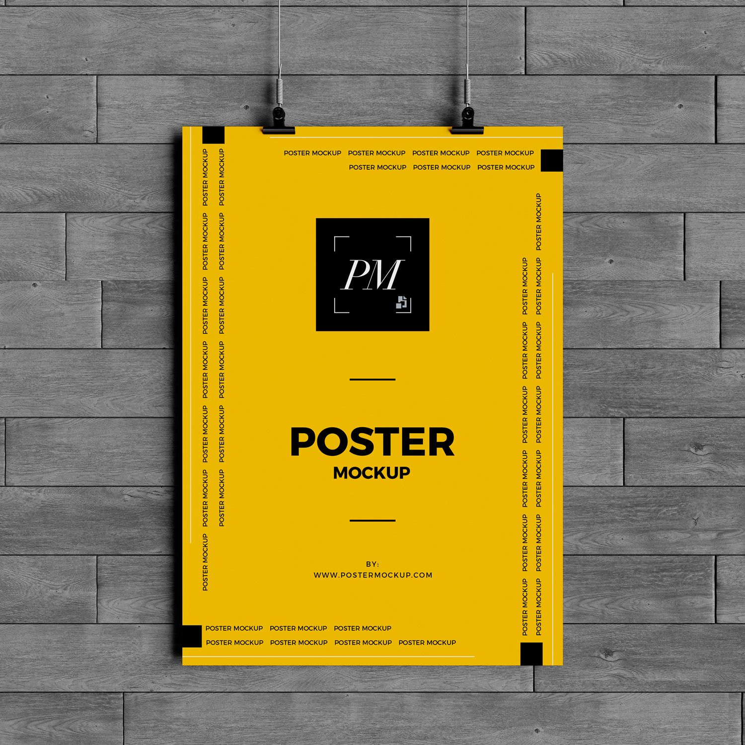 Free Hanging Over Wall Poster Mockup Psd 600 Poster Mockup Poster Mockup Psd Hanging Posters