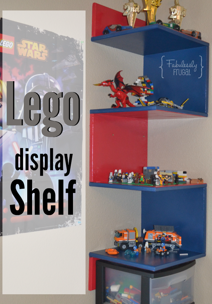 Proudly Display Your Kids Lego Creations With This Diy Shelf Check Out Tutorial To Get You Started