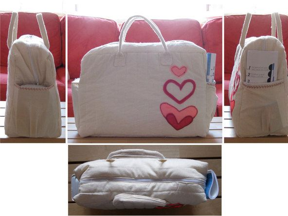 Padded Sewing Machine Carrying Bag Pattern Tutorial Studios Jlo