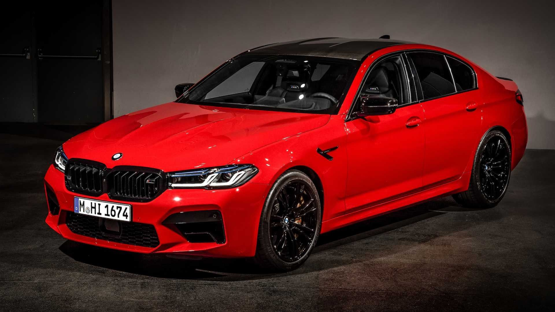 2021 BMW M5 Debuts News Looks And Updated Technology
