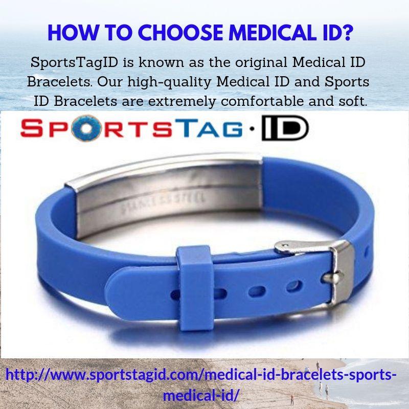 Medical ID-Sports ID-Runners ID-Athletic ID, Equestrian ID
