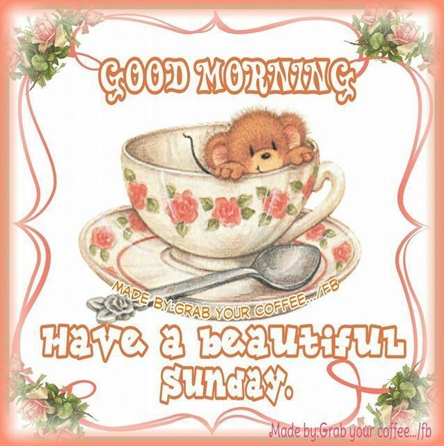 Good Morning And Have A Beautiful Sunday Good Morning Happy