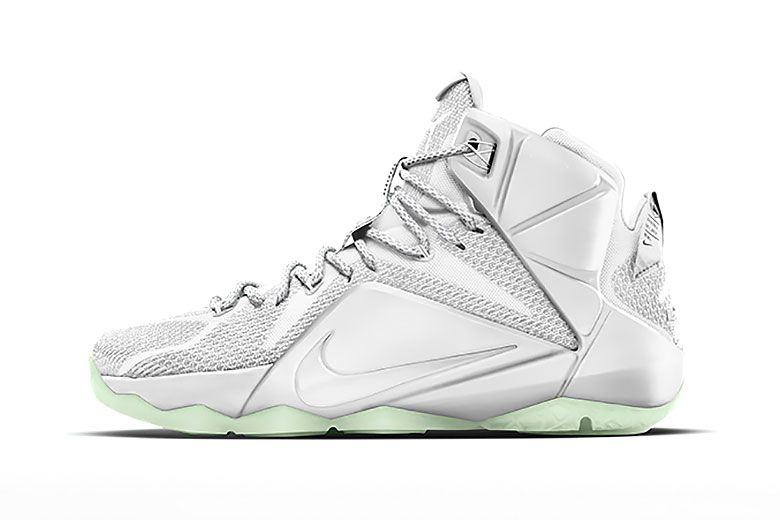 brand new cb0b4 604cc John Elliott NIKEiDs the LeBron 12 for His First Runway Show