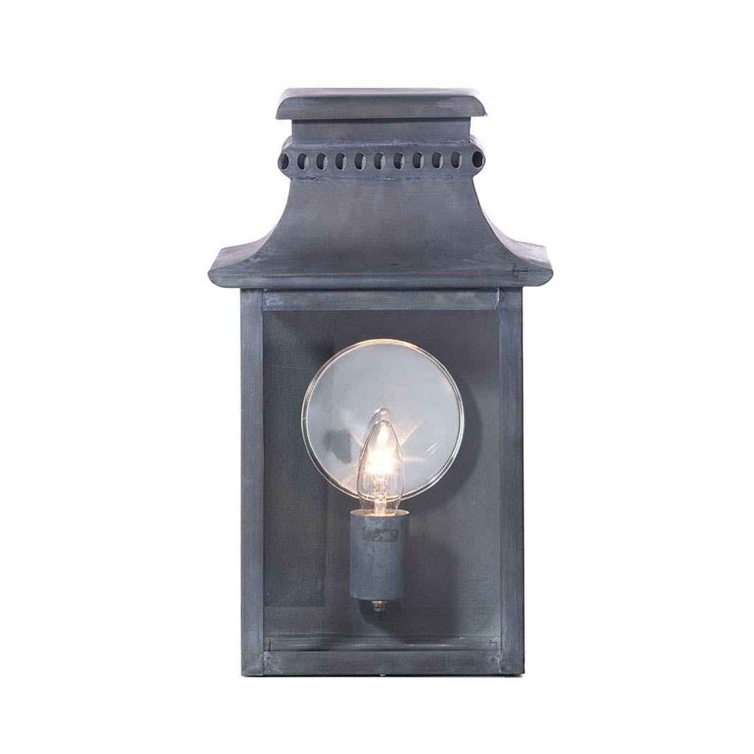 Marston And Langinger England Large Zinc Lantern Art