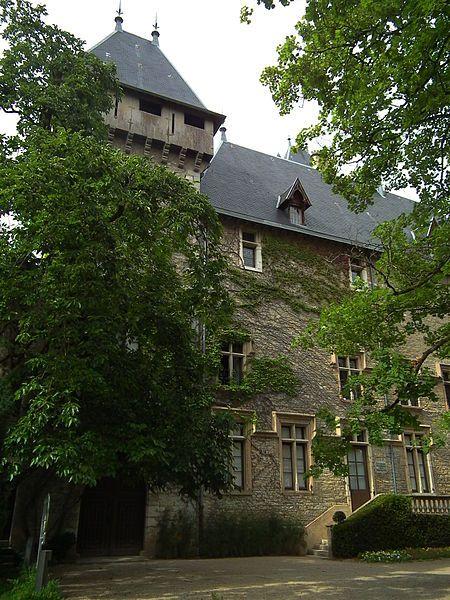 château de Chazey-sur-Ain. Aquitaine