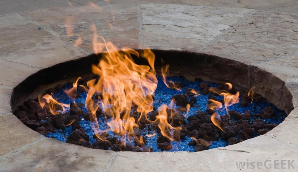 Diy Heatilator Gas Fireplace Conversion Fire Glass Rock With In Ground Fire Pit Covers - Google Search | D&k | In