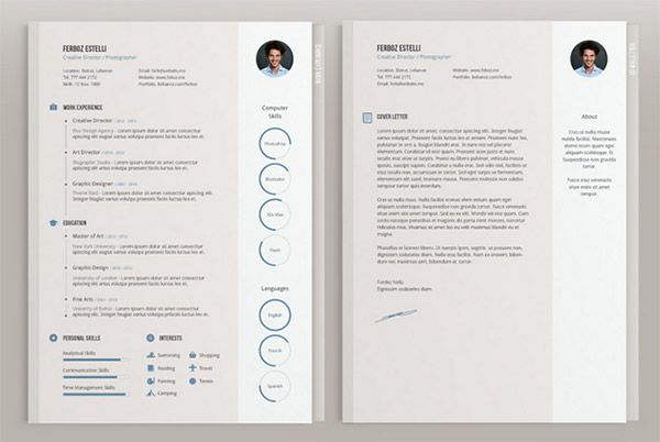 Cv Template Adobe Illustrator Cvtemplate