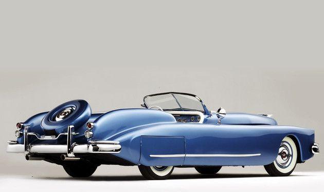 Stubs Auto Templeton Saturn Roadster Mercury Custom Bob Hope Special 1952