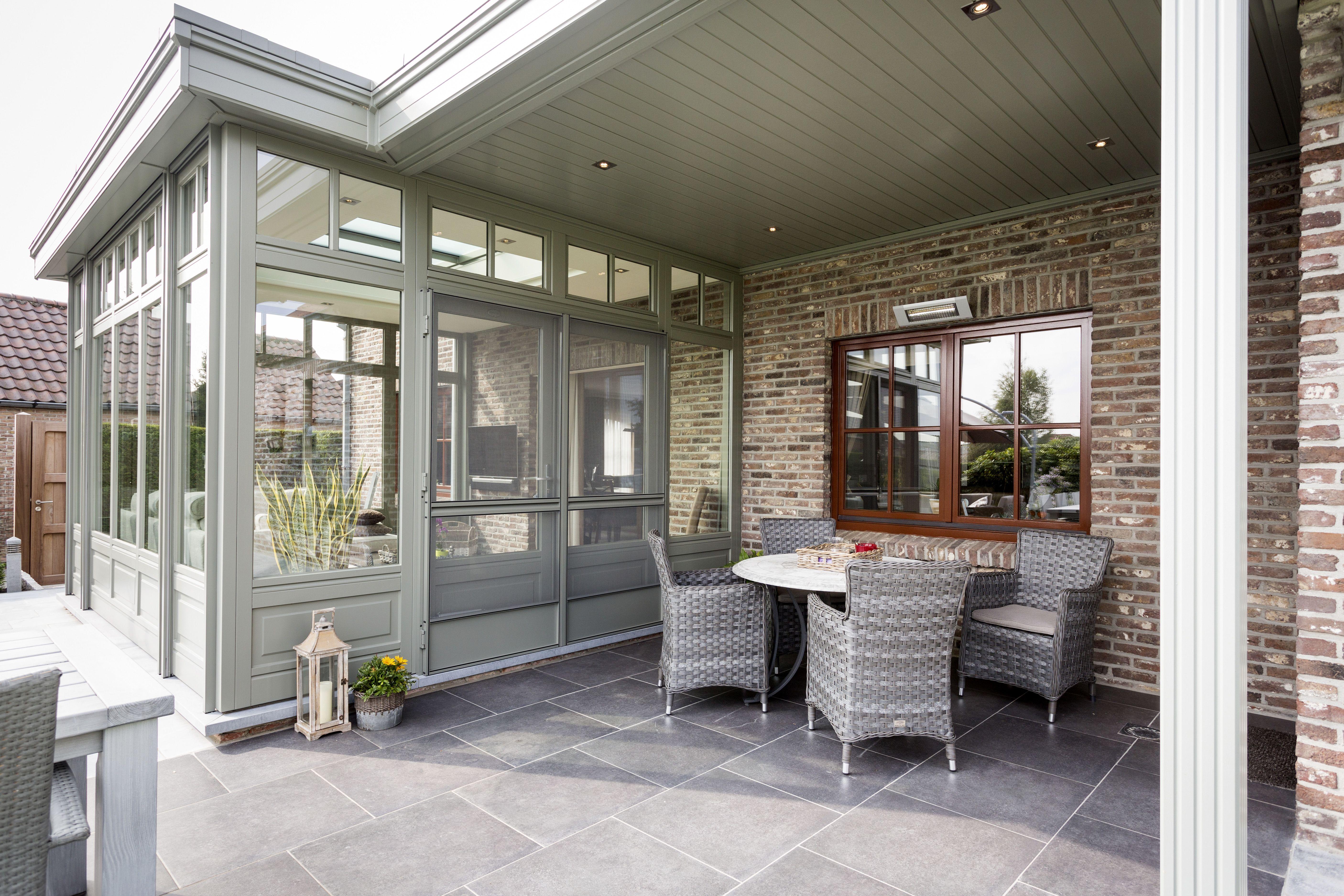 Veranda pergola in hout veranda miniflat