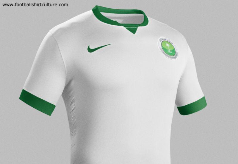more photos b9c8b 57f3c Saudi Arabia 2014-15 Nike Home Football Kit | 14/15 Kits ...