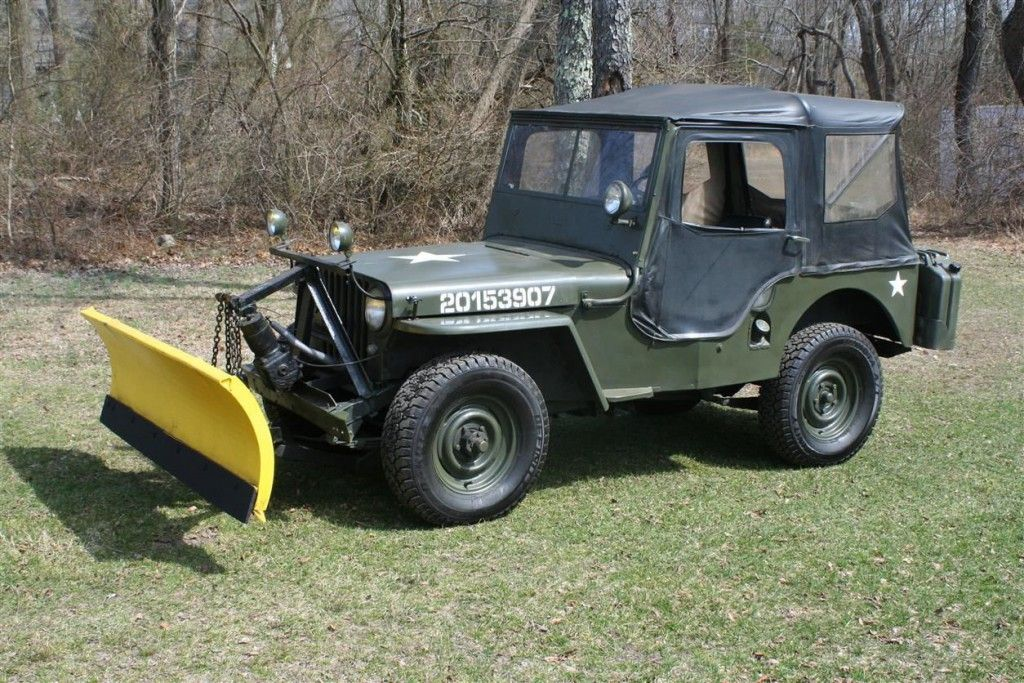 1947 Willys Cj2a Military For Sale Willys Vintage Jeep Willys Jeep