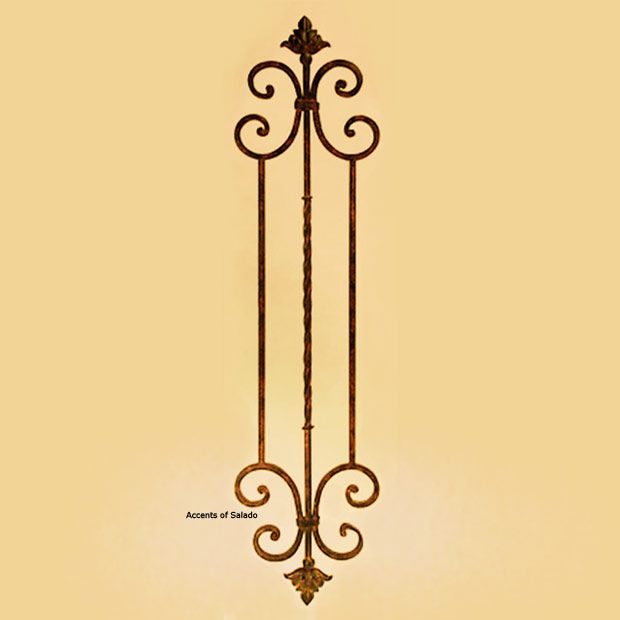 Tall Vertical Wall Grille Wg210 Wall Grille Cast Iron Decor Metal Flower Wall Decor