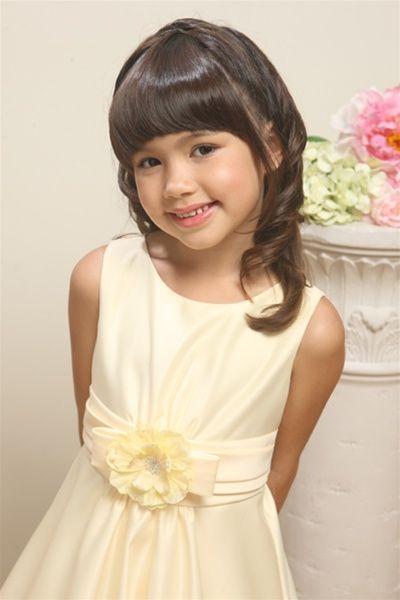 b237bbc487402 Carissa Yellow Flower Girl Dress - Shop Girls Yellow Dresses at Little Miss  Princess