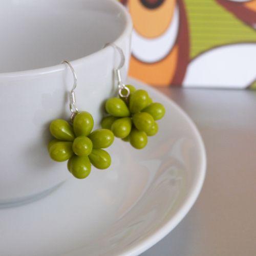 Zelené hrozny