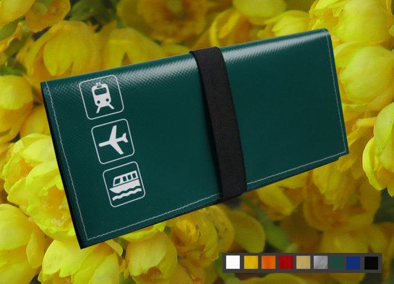 Travel/Document Holder / Pouch from Vinyl available in 8 by ildik5, $25.00