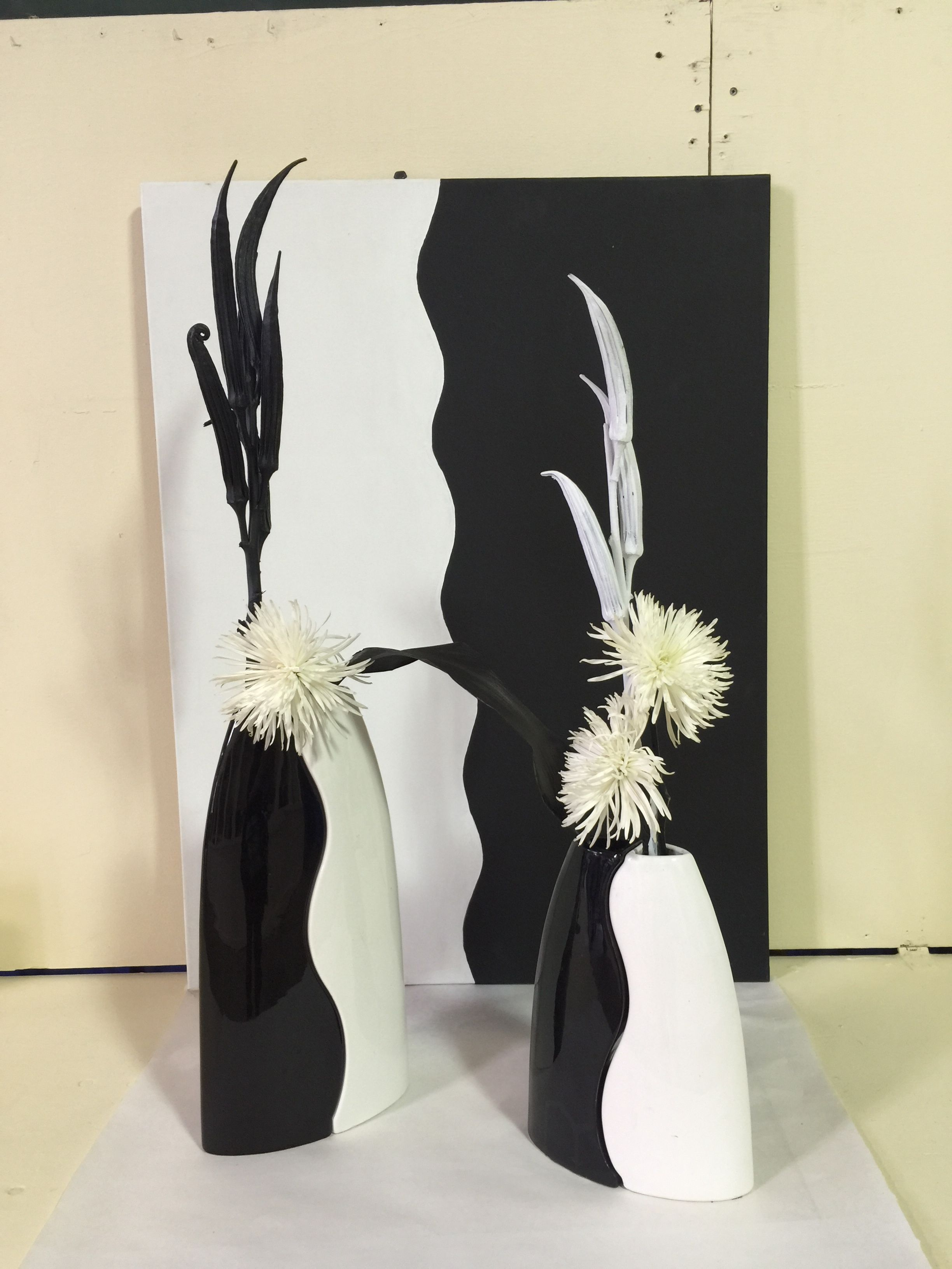 A black and white design by Juanita Wilkins. 4th place. 2015 Ohio State Fair.
