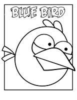Angry Bird Coloring Pages For The Angry Verb Lesson Nouns