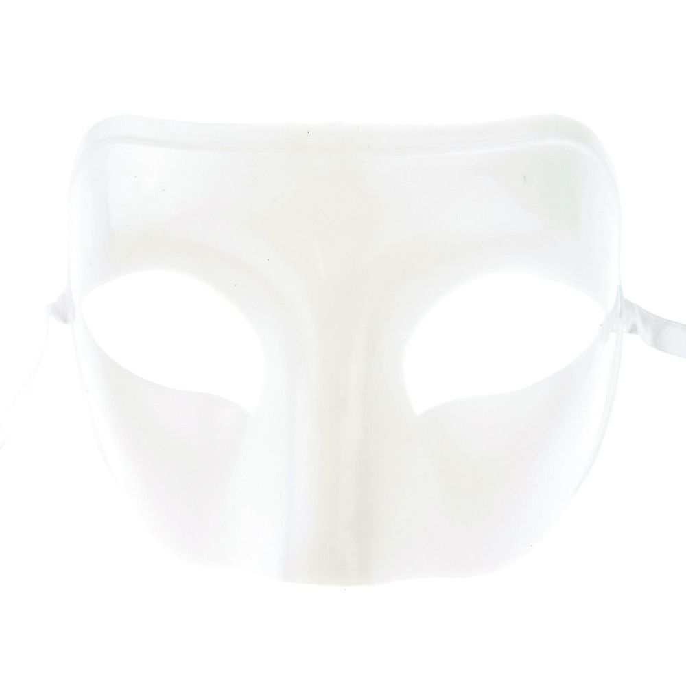 Plain Masks To Decorate Custom White Plastic Mask For Customize 4Inch 12Pack  Plain White Decorating Design