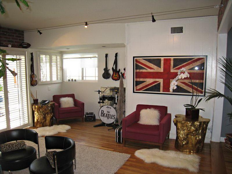 Rock N Roll Bedroom Decor: Rock N Roll Small Bedroom Decor ...