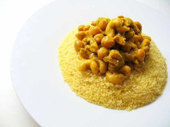 Sitruunainen Kananpoika Pohjois-Afrikkan tapaan