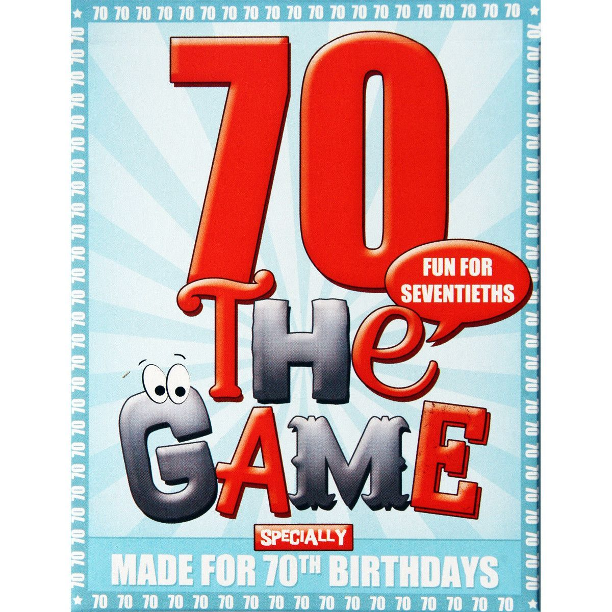 70th Birthday Game 70 Birthday 70th Birthday Gifts And Birthdays