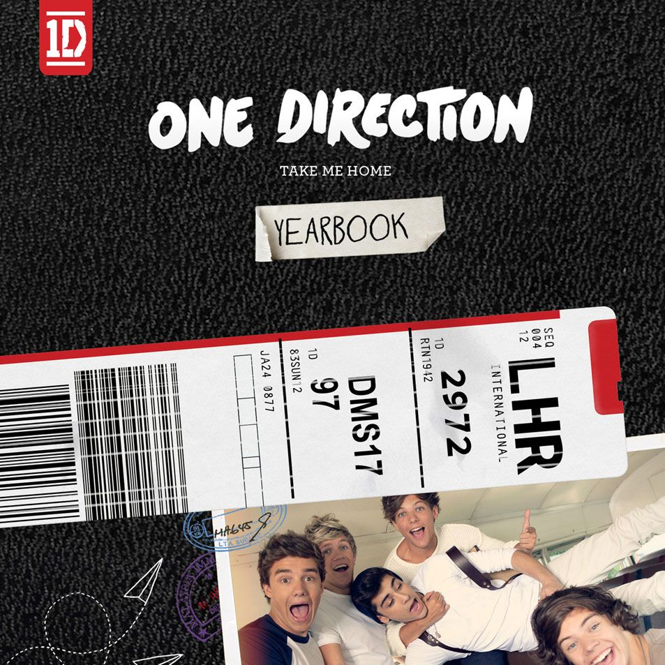 Caratula Frontal De One Direction Take Me Home Limited Yearbook