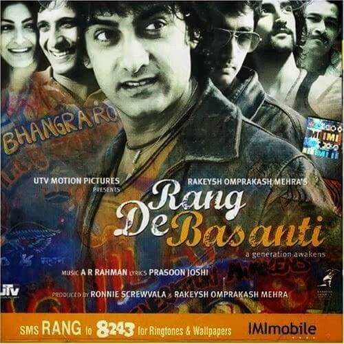 2006 Baharın Rengionu Sarıya Boya Aamir Khan Films Hindi Movies