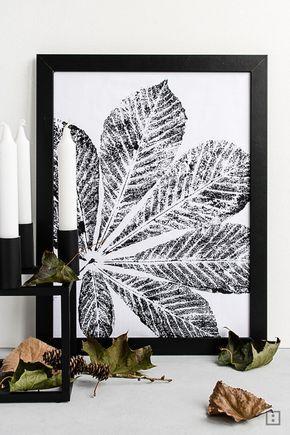 herbstlaub stempel bastelllei pinterest basteln herbst herbst diy und deko herbst. Black Bedroom Furniture Sets. Home Design Ideas