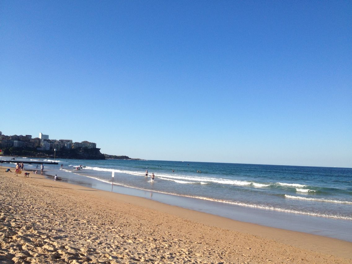 Manly Beach is beautiful too!