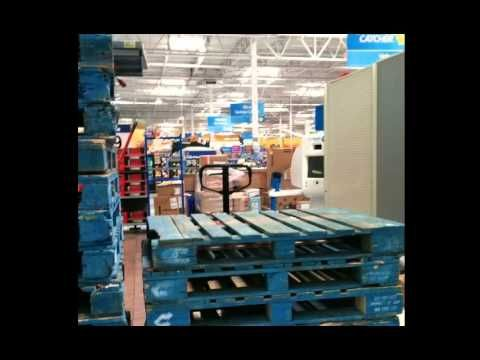 New Footage Inside Closed Walmart In California A Peek Past The Wall
