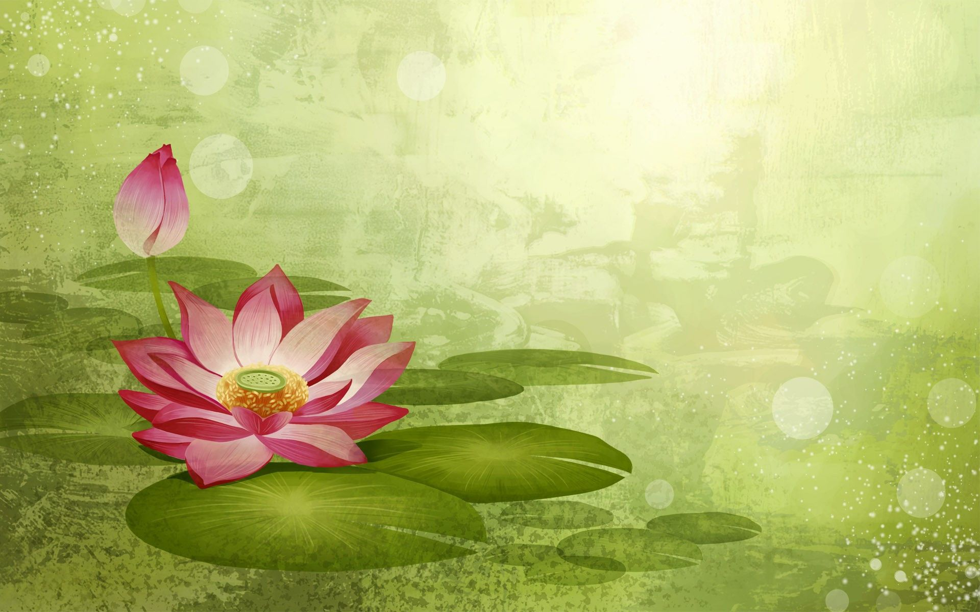 I like everything about this color palette japanese artistic i like everything about this color palette japanese artistic approach focal point lotus flower izmirmasajfo Choice Image