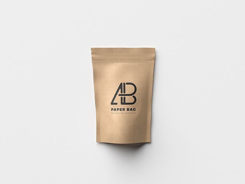 Download Brown Paper Pouch Bag Mockup Brownpaperpackages Brown Paper Pouch Bag Mockup Packaging Mockup Free Packaging Mockup Bag Packaging