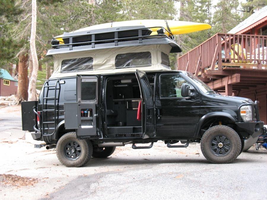 practical   Sportsmobile van, 4x4 van, Ford van