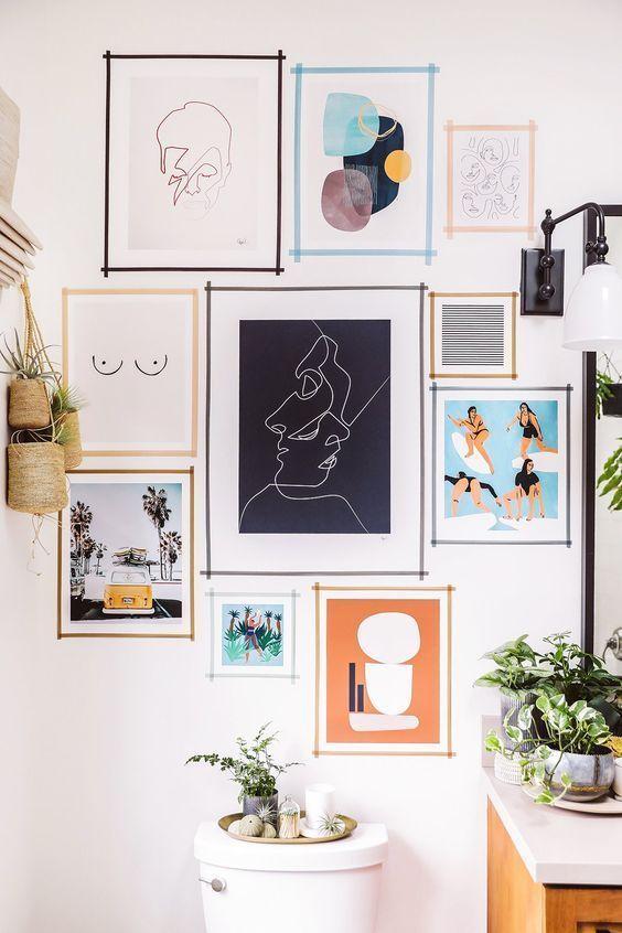 9 astuces pour décorer sans percer les murs