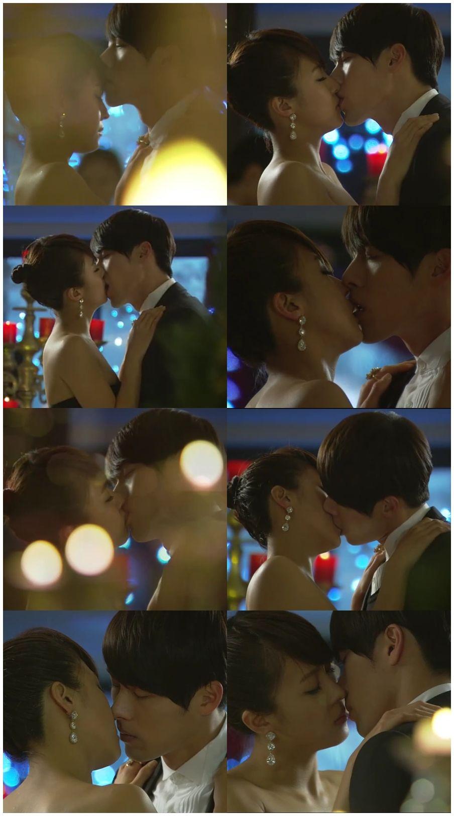 Secret garden.....wait a second. A drama with an ACTUAL kiss?! What ...