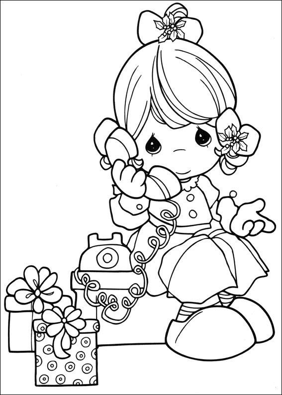 coloring page precious moments kids n fun - Coloring Pages Kids N Fun 2