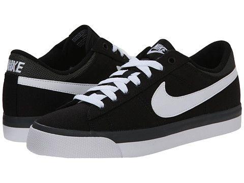 Nike Match Supreme Txt Mens Black Dark Grey White Sneakers