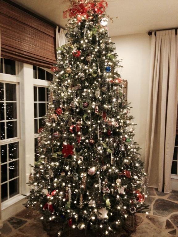 full width fraser fir artificial christmas trees with easy plug lights balsam hill - Fraser Fir Artificial Christmas Tree