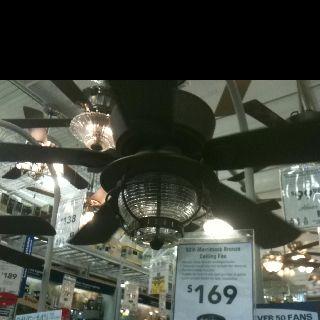 Antique looking ceiling fan