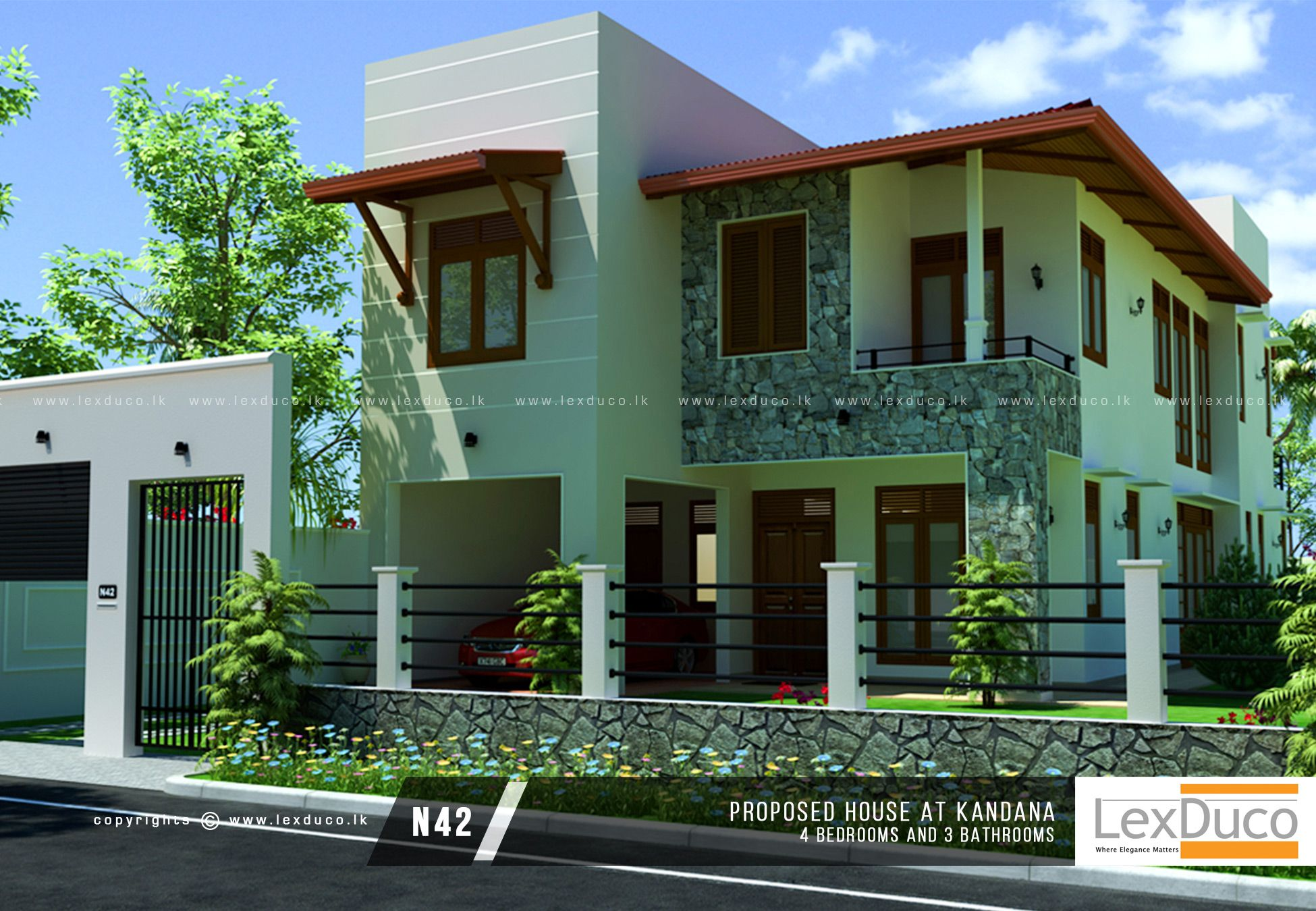 Pin by Wajira Pradeep on Modern House Designs Sri Lanka ...