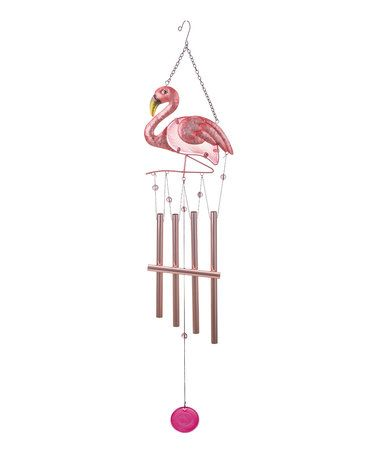 Love this Flamingo Wind Chime on #zulily! #zulilyfinds