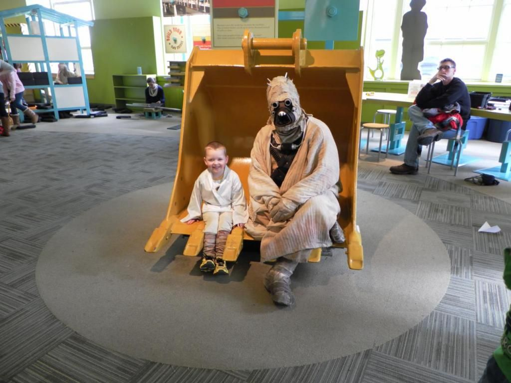 More pics from Star Wars Day at cMoe. We had a great time with the 501st and Rebel Legions, and as you can see, they had fun playing at cMoe as well! #StarWars #cmoekids BloodfinGarrison's image