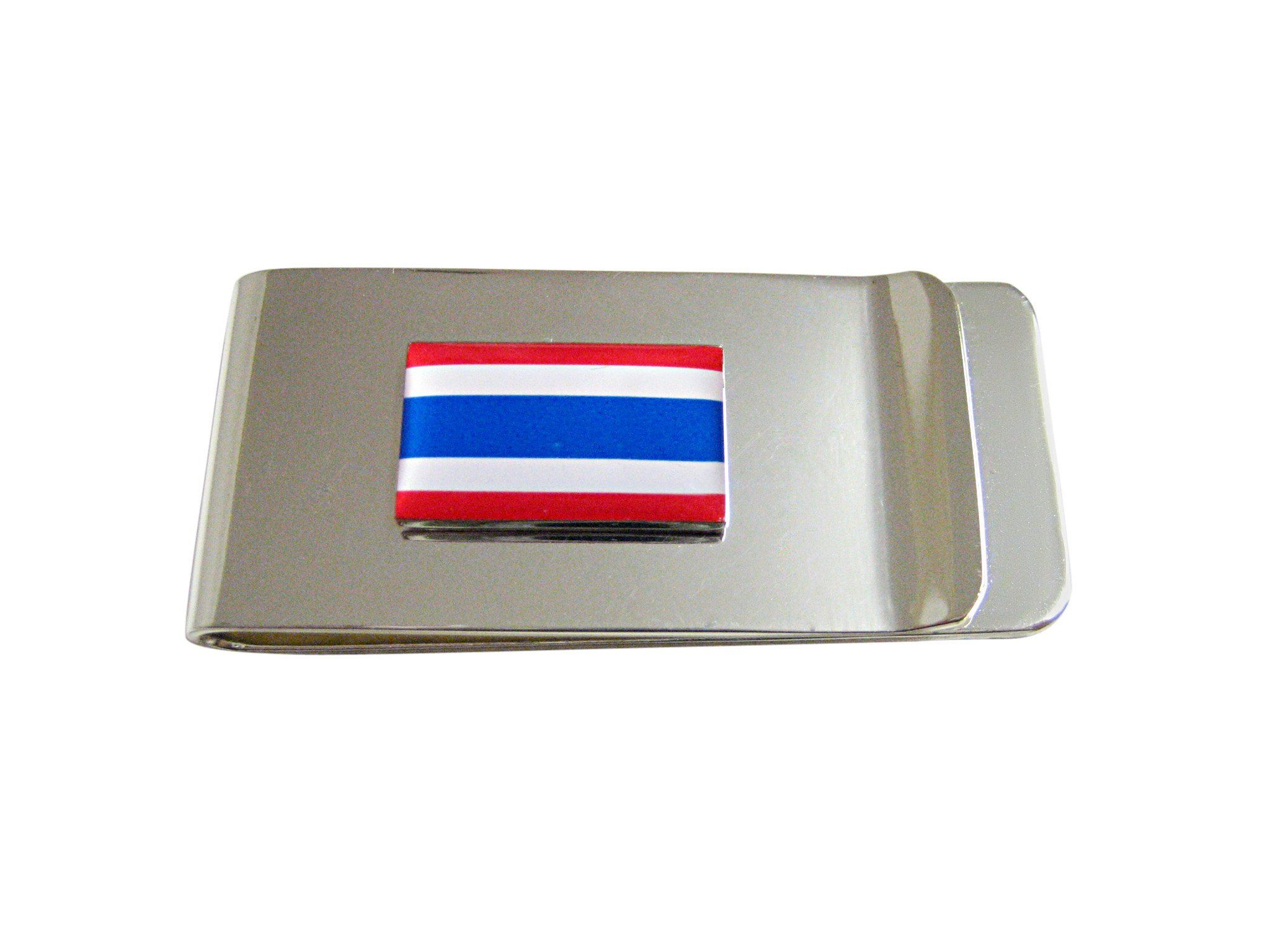 Thailand Flag Pendant Money Clip
