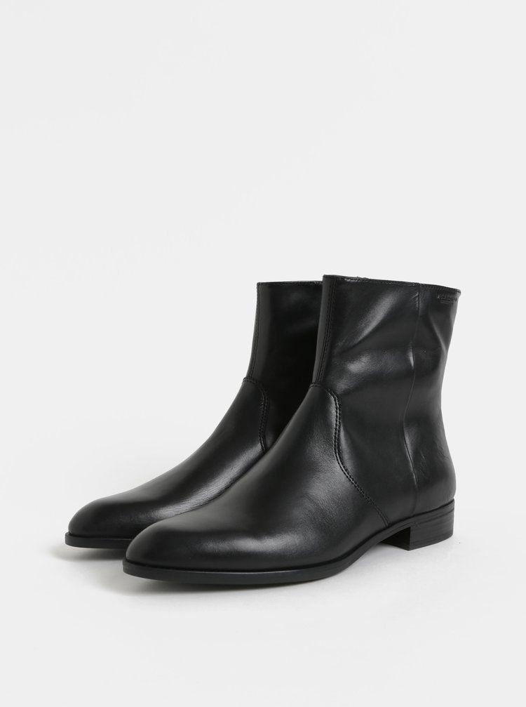 a08285c55f Černé dámské kožené kotníkové boty Vagabond Frances Sister