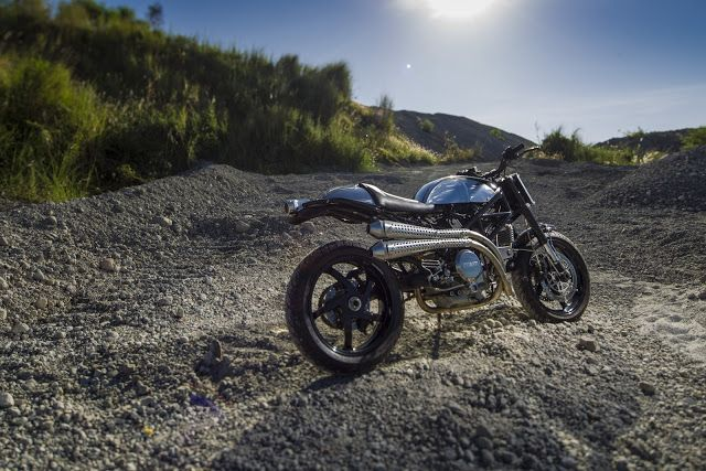 DUCATI MONSTER TRACKER BCR