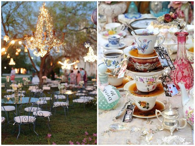 Afternoon Tea With An Alice In Wonderland Twist Ideas For Weddings