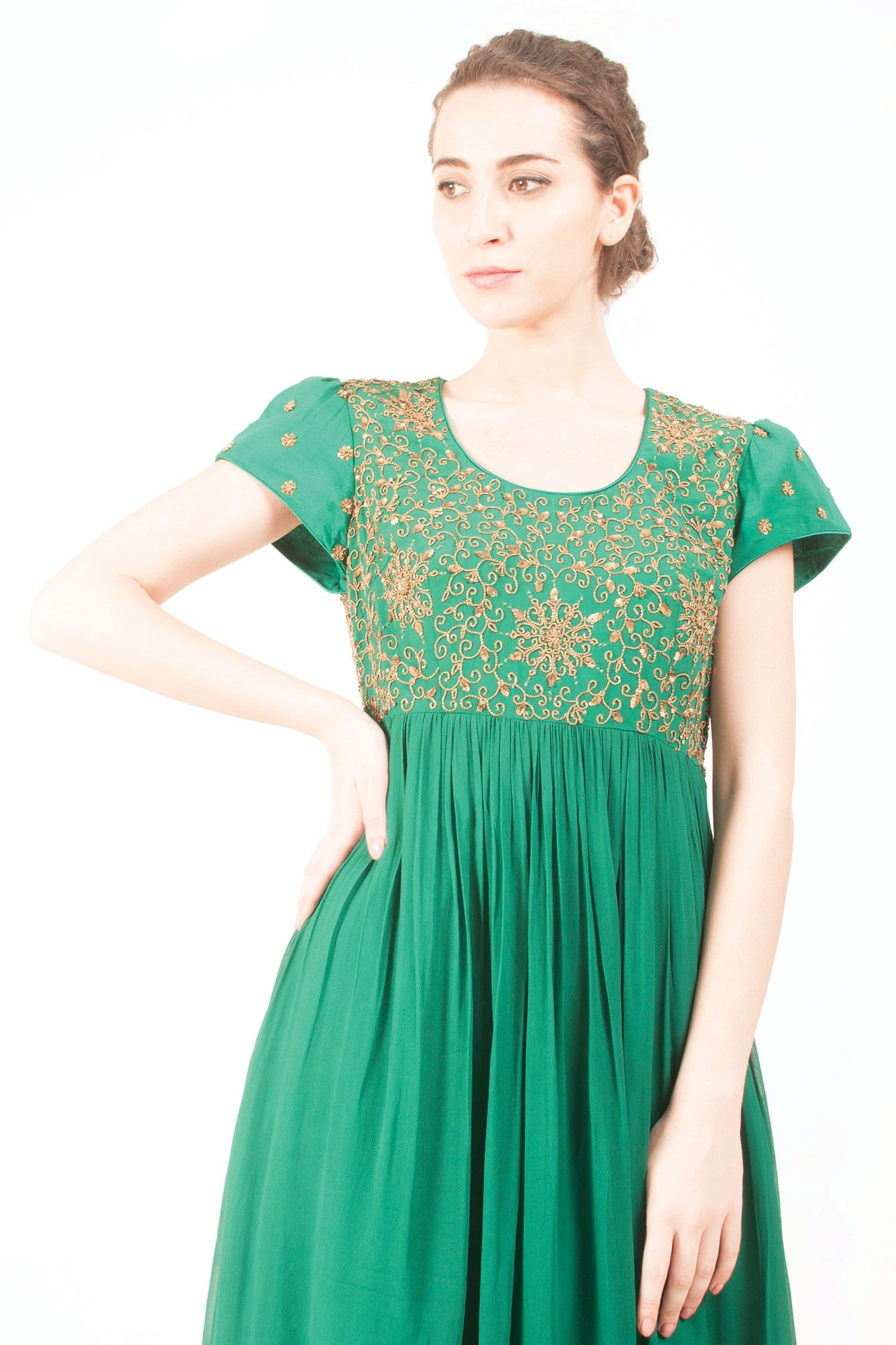f63580395 Pin by Once Upon A Trunk on Ethnic Elegance | Fashion, Jade green ...