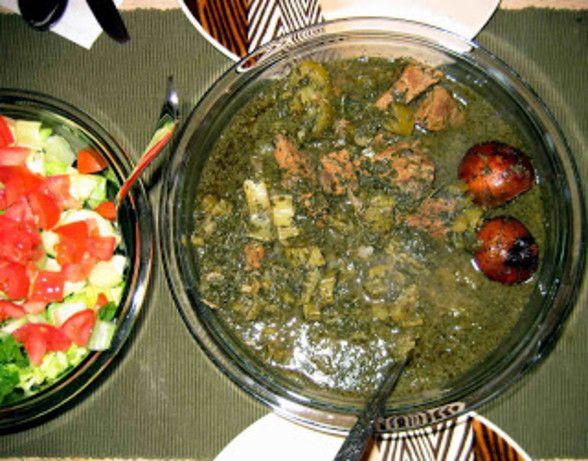 Khoresht karafs persian celery stew recipe persian celery and khoresht karafs persian celery stew forumfinder Images