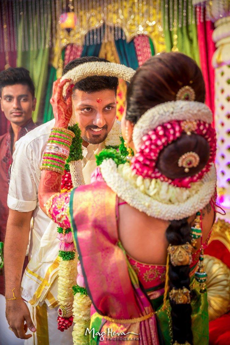 Jenietha Kumarans Bright Floral Tamil Wedding