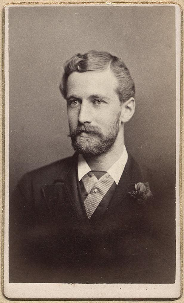 mustache man vintage Gay